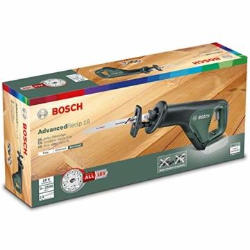Bosch AdvancedRecip 18 vergleich