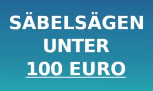 Säbelsäge unter 100 Euro