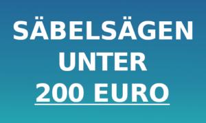 Säbelsäge unter 200 Euro